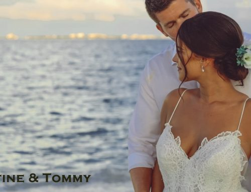 Destination Wedding at Secrets Playa Mujeres Resort – Justine & Tommy